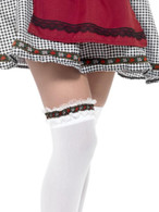 Bavarian Leg Garter, Oktoberfest Beer Festival Fancy Dress, One Size