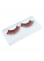 Eyelashes. Red/Black.
