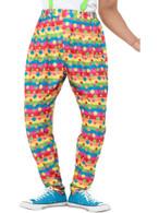 Clown Trousers, Fancy Dress, Large