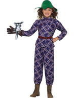 David Walliams Deluxe Awful Auntie Costume, Fancy Dress,Small Age 4-6