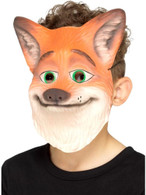 Fox Mask Orange Kids EVA, Children's Animal Fancy Dress, One Size