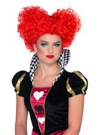 Heart Wig Red, Fancy Dress, One Size