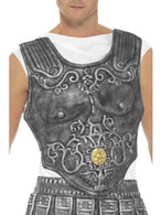 Grey Roman Armour Breastplate, Legends & Myths Fancy Dress
