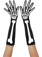 Skeleton Gloves, One Size