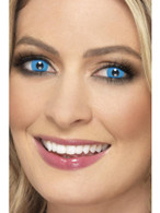 Blue Accessoreyes Harlequin, Cosmetics and Disguises
