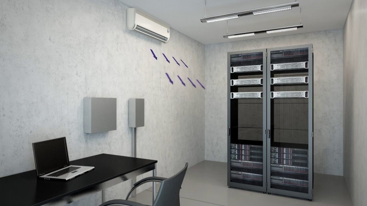 Mini split air conditioners for your server room for Split room