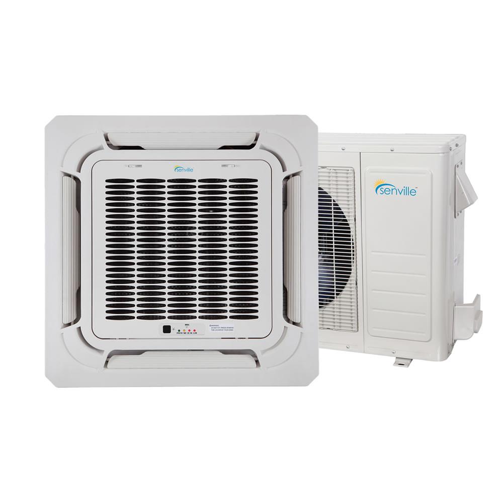 18000 Btu Ceiling Cassette Air Conditioner Heat Pump