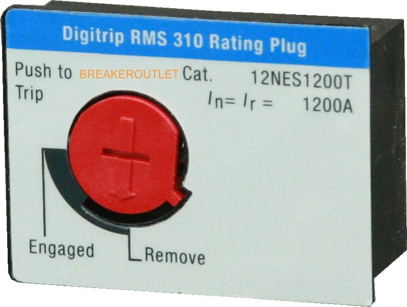 12NES1000T 1000 Amp Rating Plug for Series C ND-frame Breaker