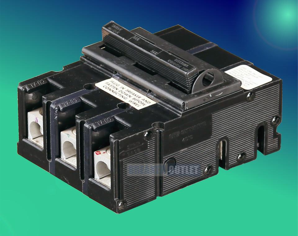 Qfp24 200 3 Zinsco 3 Pole 200 Amp Plug In Circuit Breaker