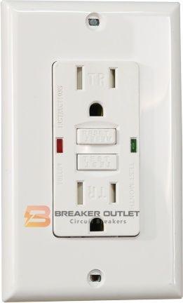 Dg20trlww 20a safety plus gfci receptacle with tamper resistant dg20trlww gfci 20a publicscrutiny Gallery