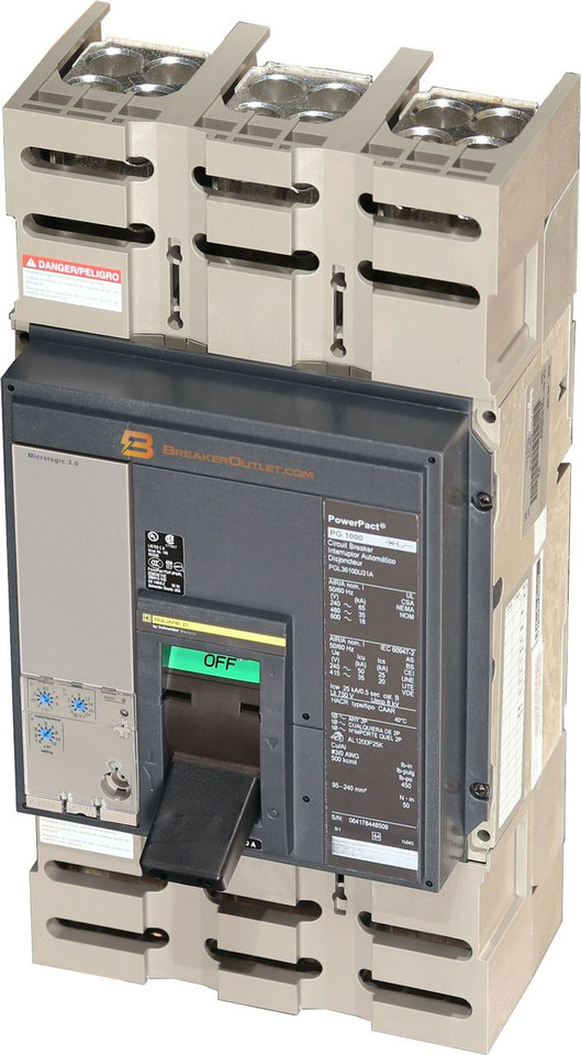PGL36100U31A Square D 1000 Amp Circuit Breaker