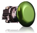 10250T27G Green Button from Eaton
