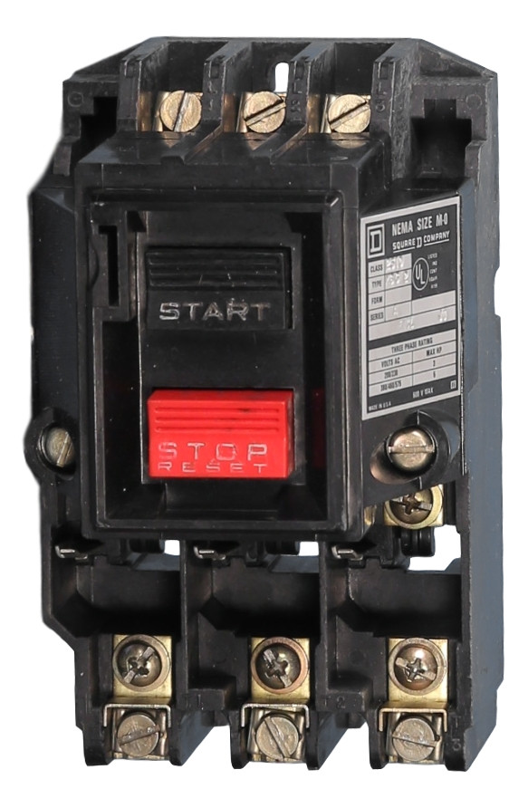 2510mbg2 Square D Manual Motor Starter Breaker Outlet