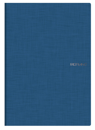 Fabriano Staple Bound Notebook - Blue
