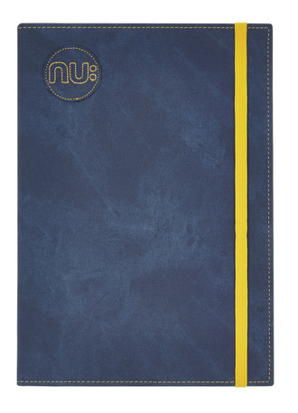 Nu Notebooks - Nu Era Denim PU Cover Casebound Elastic Journal Blue
