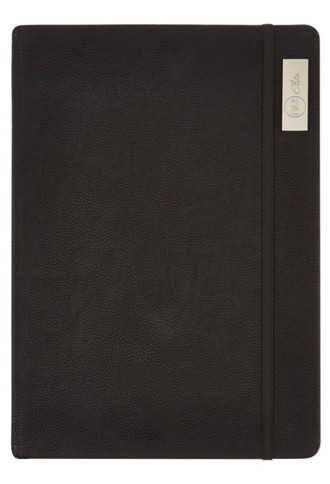 Nu Elite Prestige Black PU Casebound Journal