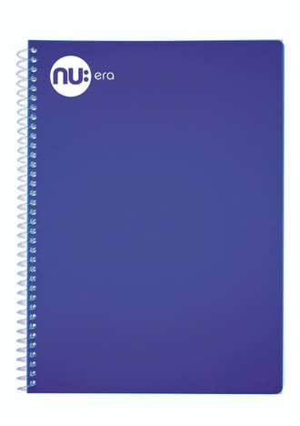 Nu Era Bright Blue Notebook