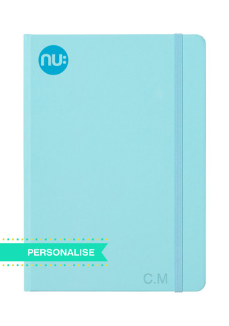 Nu: Spectrum Journal - Blue (Personalise)