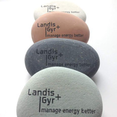 (Picture shown with: Light Green, Gray, Pink/Terracotta and Cream Stones with Black Fill)