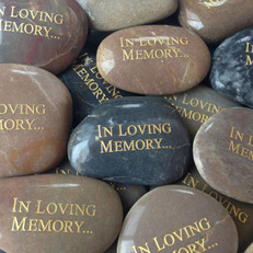 Hold someone's Memory with you forever through these beautiful stones.