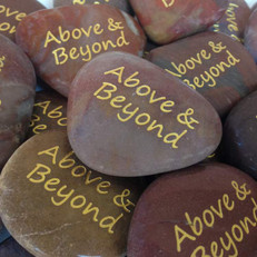 """Polished Wine Toned River Stones, 1""""-2"""""""