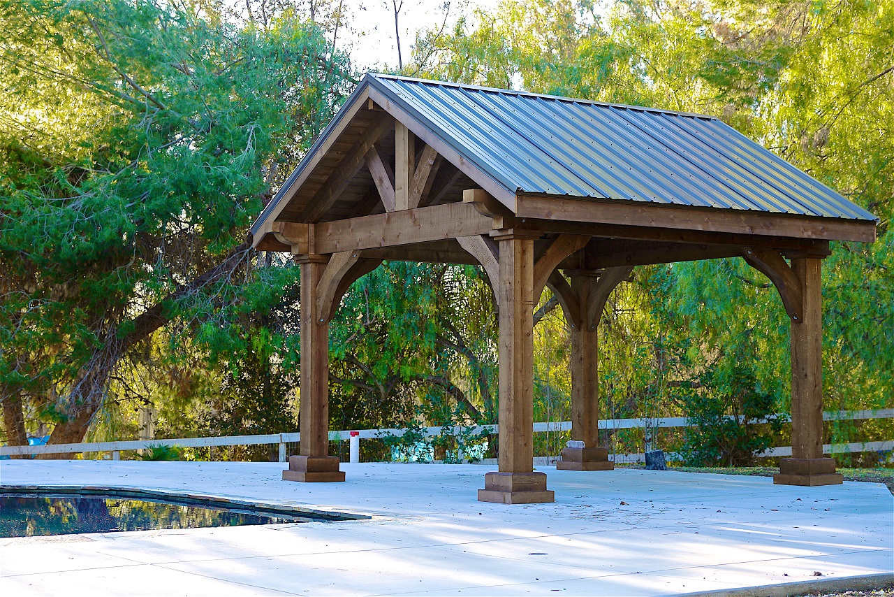 Grand Cedar Pavilion Pergolakitsusa Com