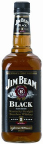 JIM BEAM BLACK 8 YEAR OLD BOURBON (750 ML)