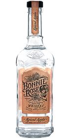 BONNIE ROSE SPICED APPLE WHITE WHISKEY 750ML