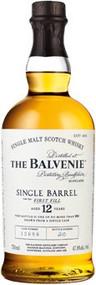 BALVENIE 12 YR SINGLE BARREL (750 ML)