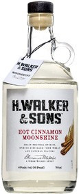 H. WALKER & SONS HOT CINNAMON MOONSHINE (750 ML)