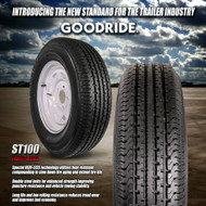 Goodride Trailer Tires and Wheels Mounted