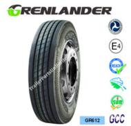 255/70R19.5 14-Ply Grenlander GR612 Steer Tire