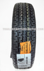 "15"" 6ply Radial Trailer Tire"