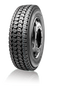 Aggressive tread pattern for semi truck, dump truck, commercial truck. 285/75R24.5 14-ply Tire. Linglong semi tire