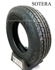 "15"" ST205x75x15 6 ply Radial Sotera Trailer tire."