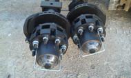 Rockwell American 24K Hydraulic Dual Tandem Trailer Axle Set