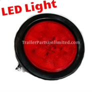 "Stop, Turn, Tail, LED Trailer Light kit, Round 4"" Brake light"