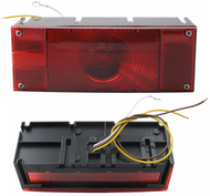 WATERPROOF LO-PRO TAIL LIGHT LEFT HAND ST-17RB