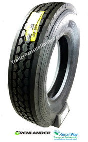 11R22.5 14Ply Grenlander GR622 Drive Tire at Trailer Parts Unlimited
