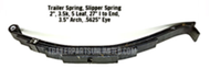5 Leaf Slipper Spring 3.5k Cap. (7k Axles)