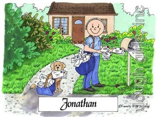 Postal Worker-Male