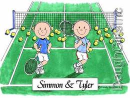 Tennis- Male & Male
