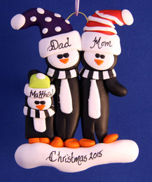Penguin Family 2 Adults / 1 Child