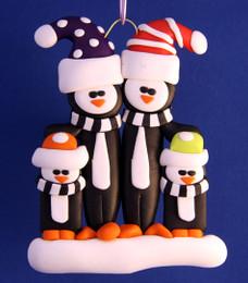 Penguin Family 2 Adults/ 2 Children