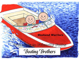 Boating-Male & Male