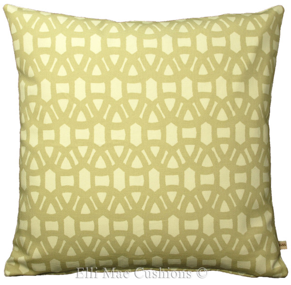 Harlequin Scion Lace Designer Fabric Chalk Hessian Sofa Cushion Pillow Cover