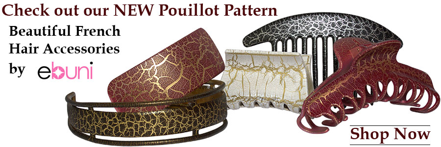New Pouillot Pattern Hair Accessories