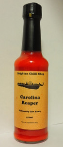 Carolina Reaper Hot sauce 150ml Brighton Chilli Shop
