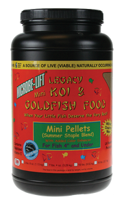 Microbe-Lift Legacy Koi and Goldfish Food - Mini Pellet 2 lb. 4 oz.