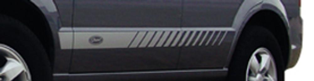 Rocker Strobe 6.0 Versatile Vinyl Stripe Graphic Kit w/Names